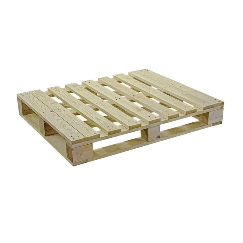 Wooden Block Pallet - 1200x1000x162 mm