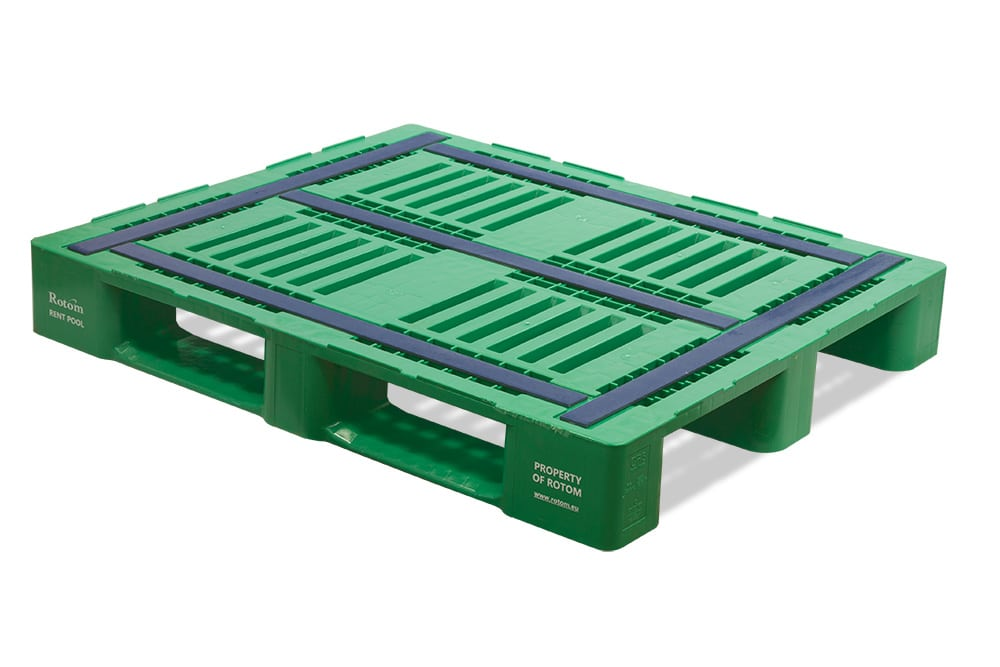Plastic Pallet - 1200x1000x160 mm - Anti-slip