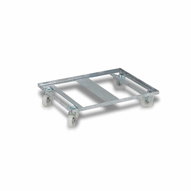Metal Dolly - 773x577x155 mm - For Nestable Boxes, Open Base