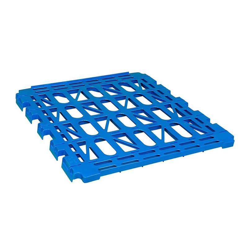 Plastic Shelf For 3 Sided Roll Containers - 810x660x55 mm - Grided