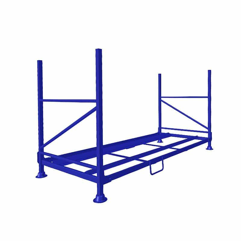 Car Tyre Storage Rack - 2343x1078x1207 mm - Collapsible, 550 kg Load Capacity